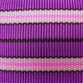 Popruh fialové pruhy 6 cm šíře