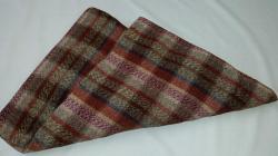 Pikniková deka béžovo-červená