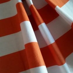 Lehátkovina šíře 45 cm - oranžbílá 7