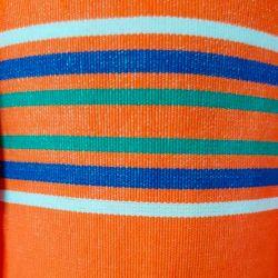 Lehátkovina šíře 140 cm - oranžová proužek P3