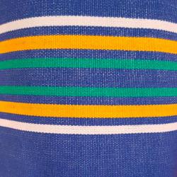 Lehátkovina šíře 140 cm - modrá proužek P2