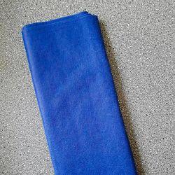 Dekorační plsť,filc modrá 1mm síla