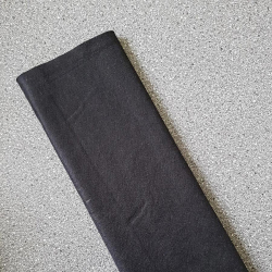 Dekorační plsť,filc černá 1mm síla
