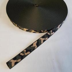 Popruh maskáč 2,5cm šíře