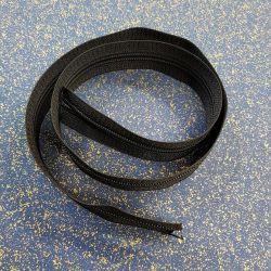 Zip černý 3,5cm