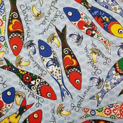 Ryby Sardinie  bavlna č.34