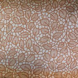 Béžový lístek bavlna č.35 cena za 1 metr