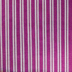Fialový proužek bavlna č.40 cena za 1 metr