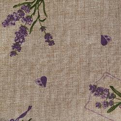 Levandule béžová bavlna č.45 cena za 1 metr