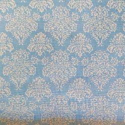 Ornamenty světle modré bavlna č.51 cena za 1 metr