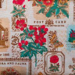 Pohlednice bavlna č.52 cena za 1 metr