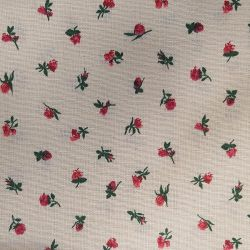 Růžičky bavlna č.53 cena za 1 metr