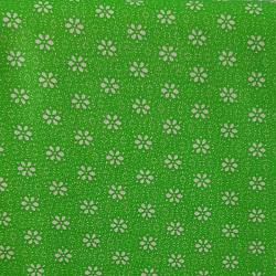 Kytička na zelené bavlna č.72