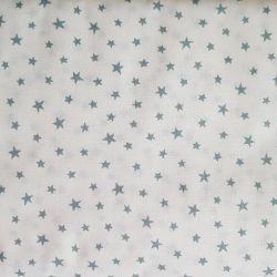Hvězdičky modrošedé malé bavlna č.101 cena za 1 metr