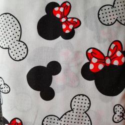 Mickey a Minie bavlna č.D54 1 metr