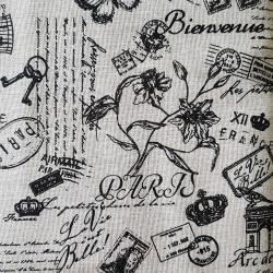 Paris písmo bavlna č.107 cena za 1 metr