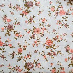Květy pudrové bavlna č.110 cena za 1 metr