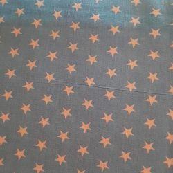 Hvězdičky modré bavlna č.113 cena za 1 metr