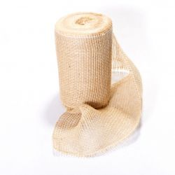 Jutová tkanina rolička - 211g/m2 cena za 1m