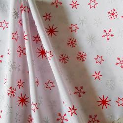 Běhoun vánoční hvězdy na bílé cena za 1 metr