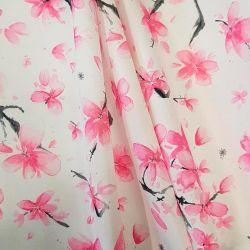 Běhoun metráž růžové květy