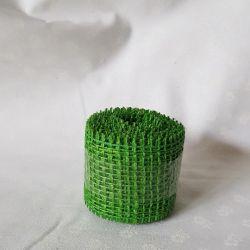 Jutová stuha zelená světlá