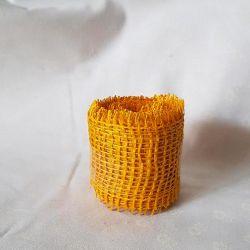 Jutová stuha žlutá