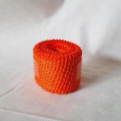 Jutová stuha oranžová