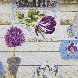 Loneta zahrada bavlna č.3 cena za 1 metr