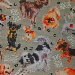 Loneta psi bavlna č.4 cena za 1 metr