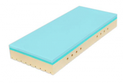 Matrace Super Fox BLUE 200x90x18 cm 1+1 zdarma